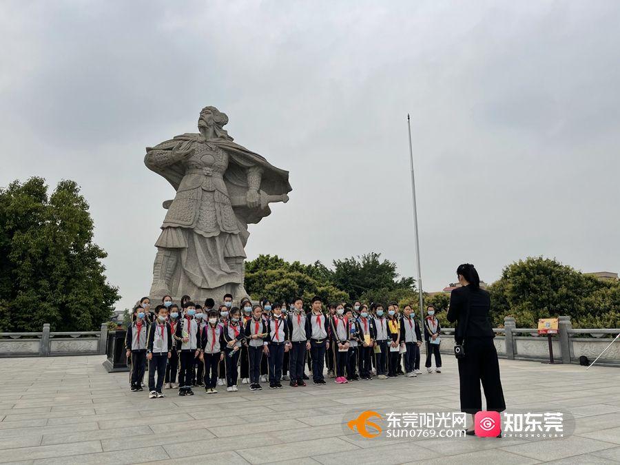 石碣镇这条红色研学路线 集红色文化和爱国主义教育于一体